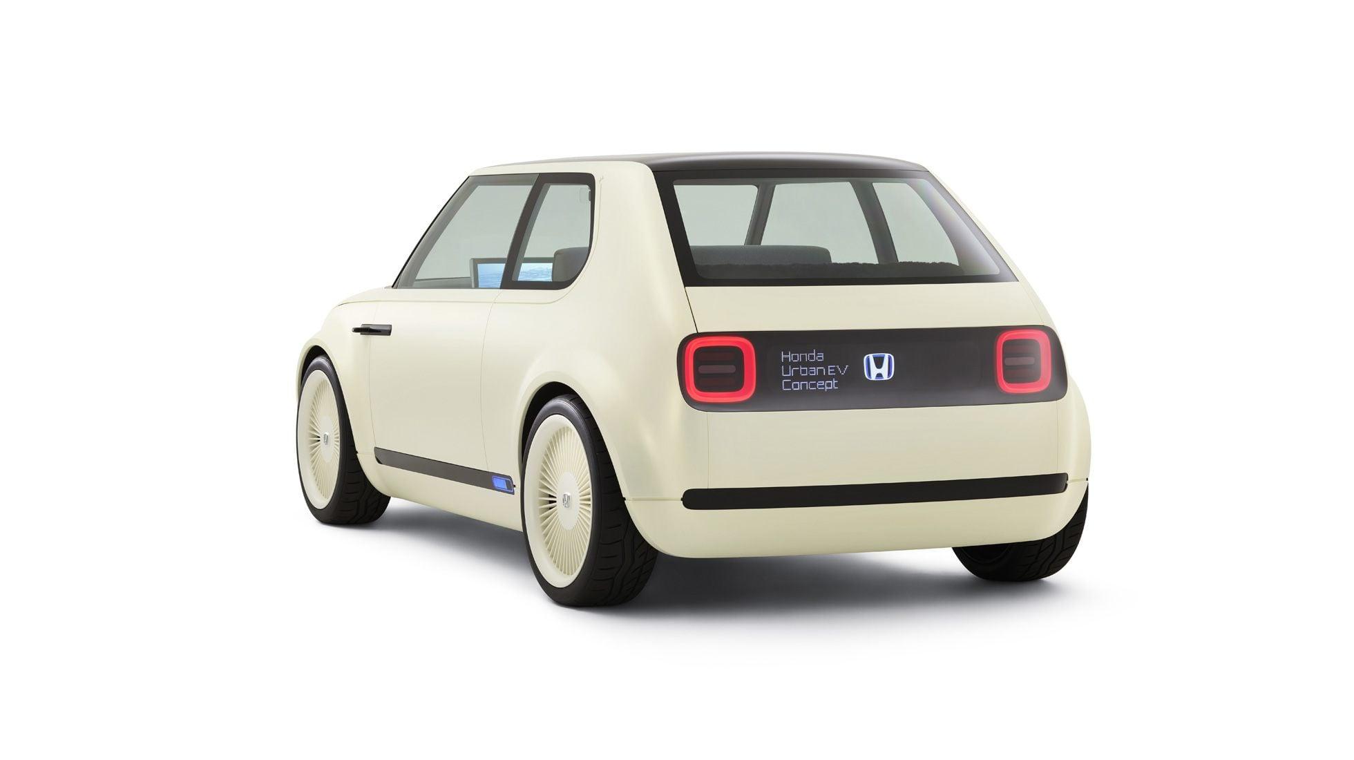 Rear of the Honda Urban EV Concept