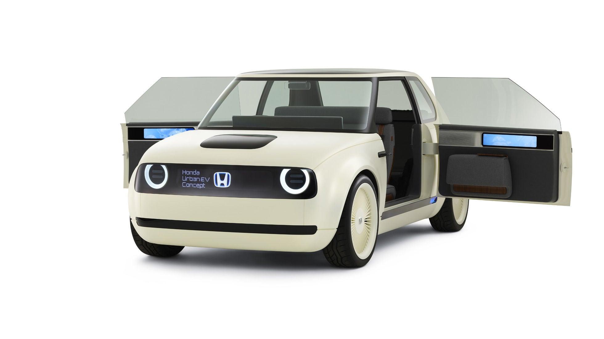 Honda Urban EV Concept with suicide doors