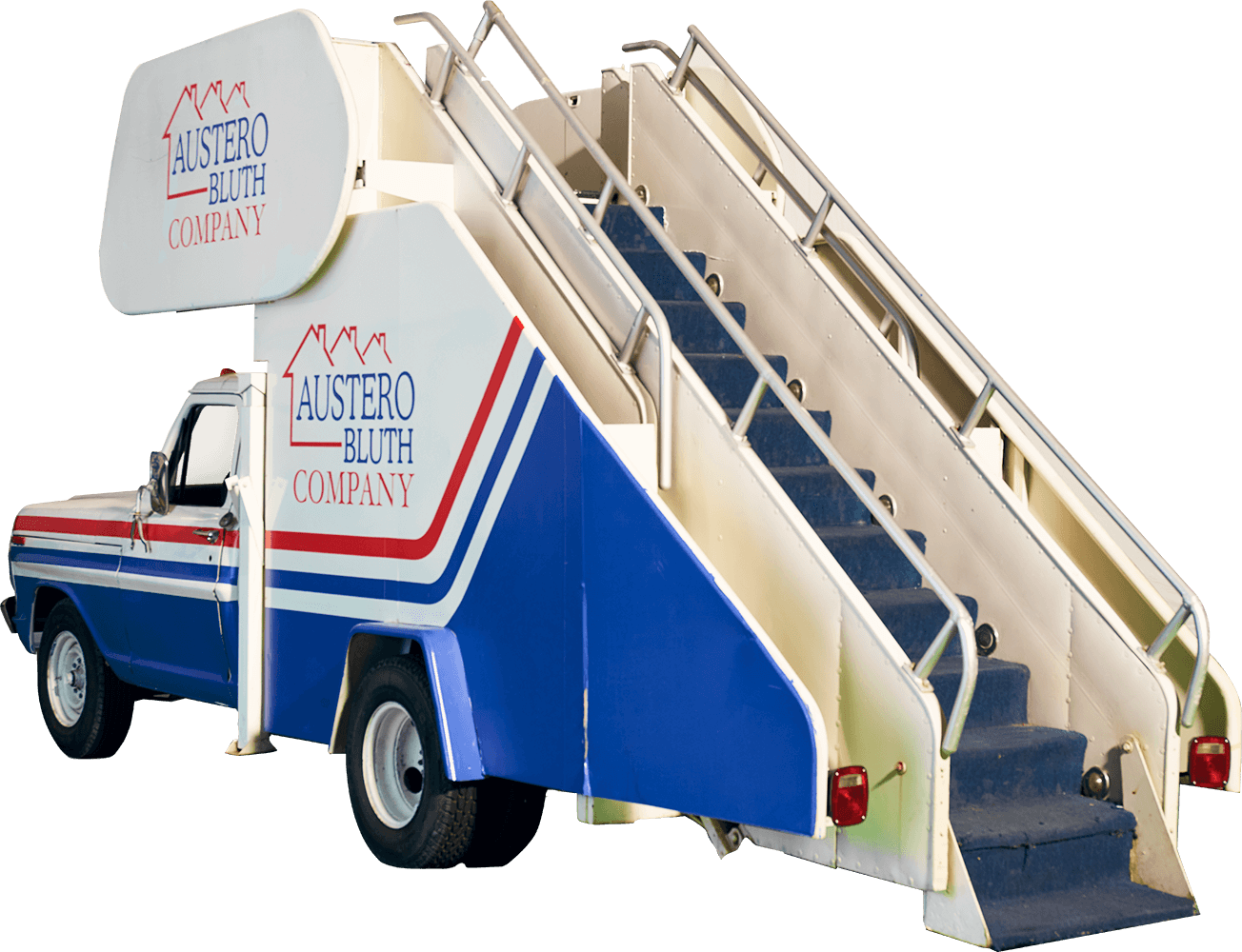 The Austero Bluth stair car
