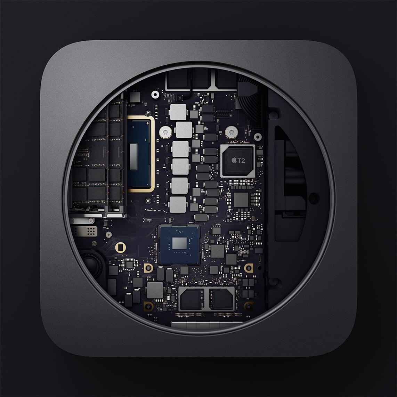 2018 Mac mini interior