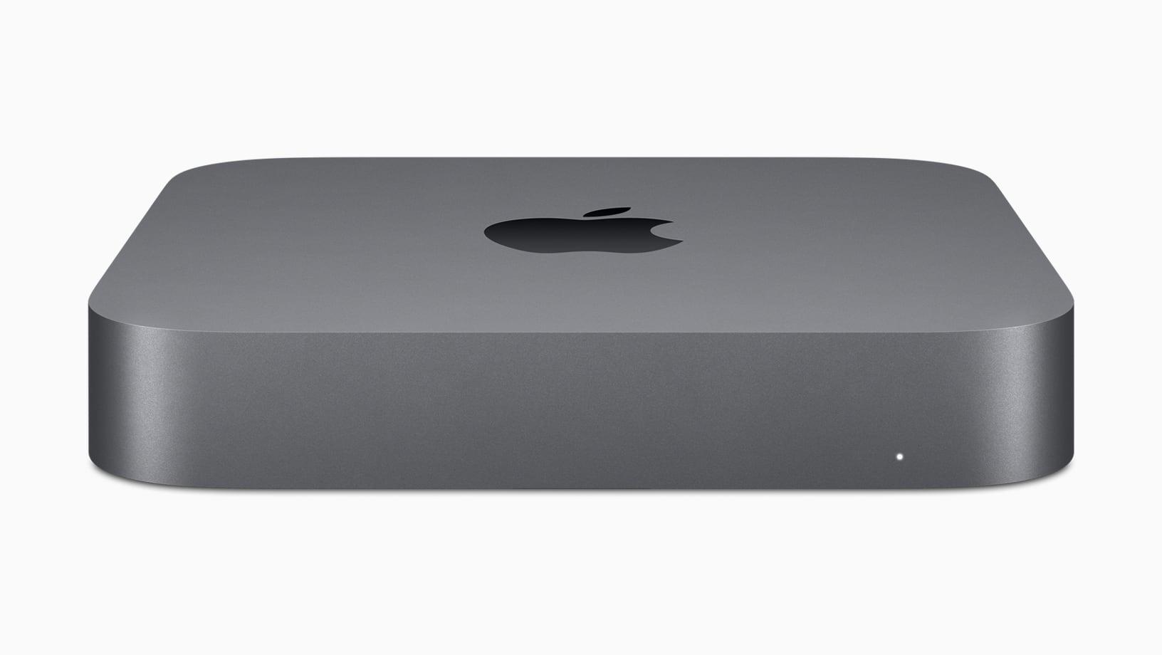 2018 space grey Mac mini