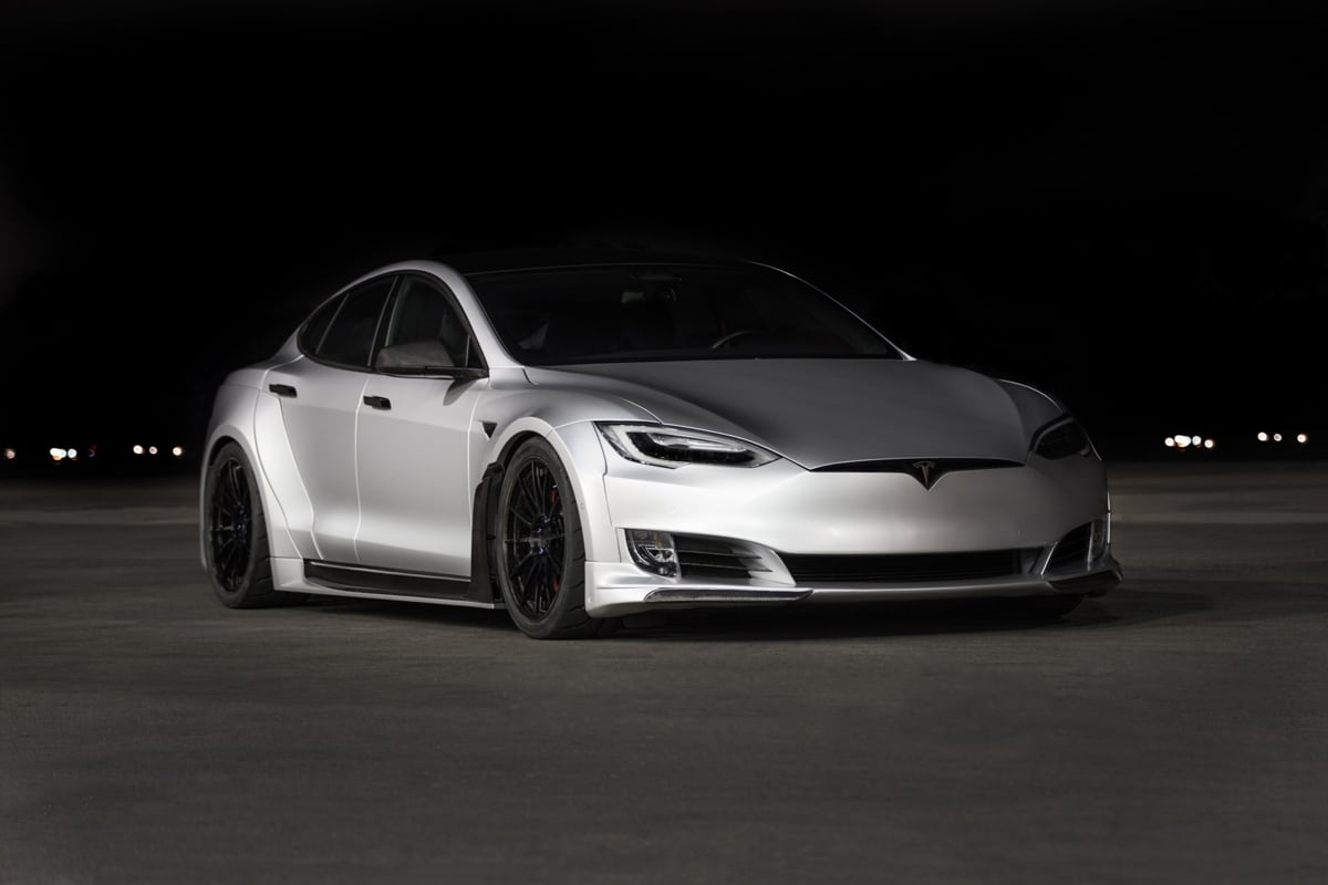 Modified Model S P100D