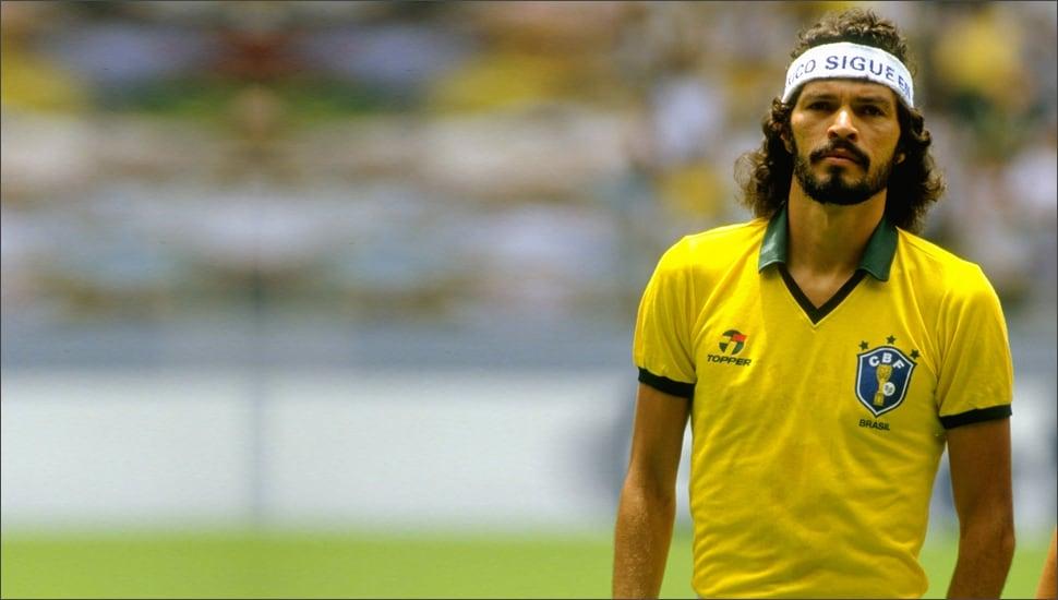 Brazil home shirt 1986